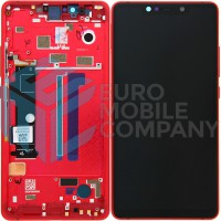 Xiaomi Mi 8 SE LCD + Digitizer Frame  OEM Complete - Red