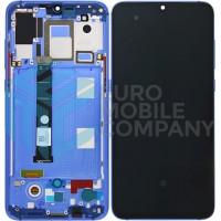 Xiaomi Mi 9 Amoled Display + Digitizer + Frame OEM Complete - Blue
