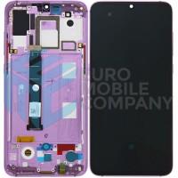 Xiaomi Mi 9 Amoled Display + Digitizer + Frame OEM Complete - Purple