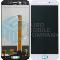 Oppo F3 LCD + Digitizer Complete - White