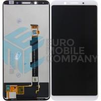 Oppo F5 Display + Digitizer Complete - White
