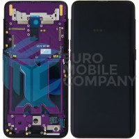 Oppo Find X LCD + Digitizer Complete with Frame - Bordeaux Red