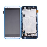 HTC Desire 620 Display + Digitizer + Frame - White