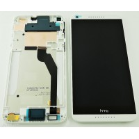 HTC Desire 820 LCD+Touch+Frame - White