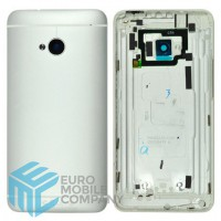Replacement Battery Cover For HTC One M7- silver