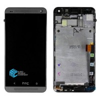 HTC M8 LCD + Touchscreen incl, Frame - Black