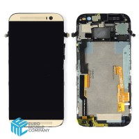 HTC One M8 Display + Digitizer incl Frame - Gold