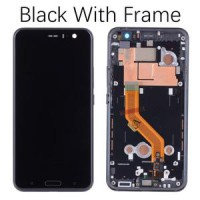 HTC U11 LCD + Digitizer + Frame - Black