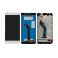 Huawei GT3 Display+Touchscherm+Frame - White
