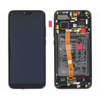 Huawei Honor 10 02351XBM OEM Service Part Screen Incl. Battery - Black