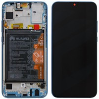 Huawei Honor 10 Lite 02352HGU OEM Service Part Screen Incl. Battery - Sky Blue