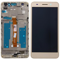 Huawei Honor 5A (CAM-AL00) Display Complete + Frame - Gold