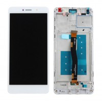 Huawei Honor 6X (BLN-L21) LCD Complete + Frame - White