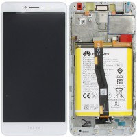 Huawei Honor 6X (BLN-L21) OEM Service Part Screen Incl. Battery - White