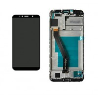 Huawei Honor 7A (AUM-AL00) Display + Digitizer With Front Frame - Black