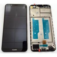 Huawei Honor 7C (LND-AL30) LCD Complete + Frame - Black