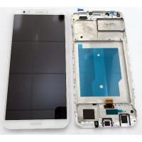 Huawei Honor 7C (LND-AL30) LCD Complete + Frame - White