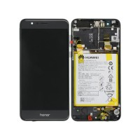 Huawei Honor 8 (FRD-L09/ FRD-L19) OEM Service Part Screen Incl. Battery - Black