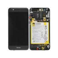 Huawei Honor 8 (FRD-L09/ FRD-L19) OEM Service Part Screen Incl. Battery - Black
