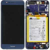 Huawei Honor 8 (FRD-L09/ FRD-L19) OEM Service Part Screen Incl. Battery - Blue