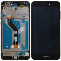 Huawei Honor 8 Lite LCD + Touchscreen + Frame - Black