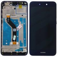 Huawei Honor 8 Lite LCD + Touchscreen + Frame - Blue