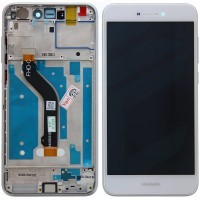 Huawei Honor 8 Lite LCD + Touchscreen + Frame - White