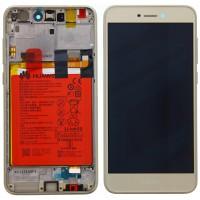 Huawei Honor 8 Lite OEM Service Part Screen Incl. Battery (02351DWM) - Gold
