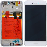 Huawei Honor 8 Lite OEM Service Part Screen Incl. Battery (02351UYE) - White
