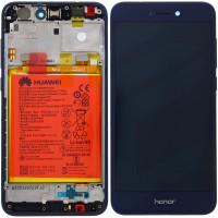 Huawei Honor 8 Lite OEM Service Part Screen Incl. Battery (02351VBP) - Blue