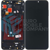 Huawei Honor 8X (JSN-L21) LCD + Digitizer With Front Frame - Black