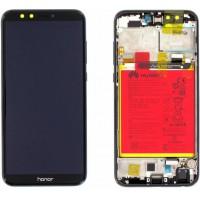 Huawei Honor 9 Lite 02351SNN (LLD-L31) OEM Service Part Screen Incl. Battery - Black