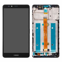 Huawei Ascend Mate 7 (Jazz-L09) LCD + Digitizer With Front Frame - Black