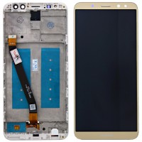 Huawei Mate 10 Lite (RNE-L01/ RNE-L21) LCD+Touchscreen + Frame - Gold