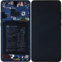 Huawei Mate 20 02352FQM (HMA-L09/ HMA-L29) OEM Service Part Screen Incl. Battery - Midnight Blue