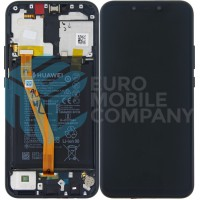 Huawei Mate 20 Lite 02352GTW OEM Service Part Screen Incl. Battery - Black