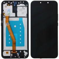 Huawei Mate 20 Lite (SNE-LX1/ SNE-L21) Display  + Frame - Black