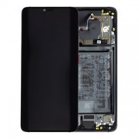 Huawei Mate 20 Pro 02352FRL (LYA-L09/ LYA-L29) OEM Service Part Screen Incl. Battery - Black