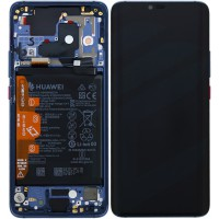 Huawei Mate 20 Pro 02352GFX (LYA-L09/ LYA-L29) OEM Service Part Screen Incl. Battery - Midnight Blue