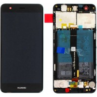 Huawei Nova (CAN-L01/ CAN-L11) 02351CKD OEM Service Part Screen Inc Battery - Black