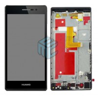 Huawei Ascend P7 (P7-L10) Display+Digitizer Complete Module With Frame - Black