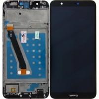 Huawei P Smart (FIG-L31) Display + Digitizer + Frame - Blue