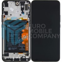 Huawei P Smart Z OEM Service Part Screen Incl. Battery (02352RRF) - Midnight Black