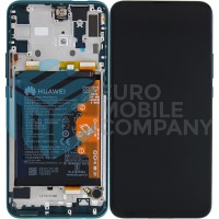 Huawei P Smart Z OEM Service Part Screen Incl. Battery (02352RXT) - Emerald Green