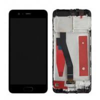Huawei P10 (VTR-L09/VTR-L29) LCD+Touchscreen+Frame - Black
