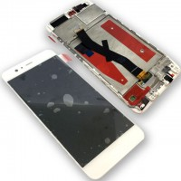 Huawei P10 (VTR-L09/VTR-L29) LCD+Touchscreen+Frame - White