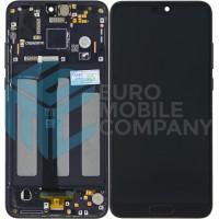 Huawei P20 (EML-L09/ EML-L29) Display + Touchscreen + Frame - Black