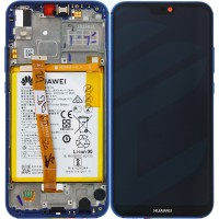 Huawei P20 Lite 02351VUV (ANE-LX1) OEM Service Part Screen Incl. Battery - Blue