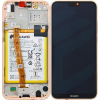 Huawei P20 Lite 02351VUW (ANE-LX1) OEM Service Part Screen Incl. Battery - Sakura Pink
