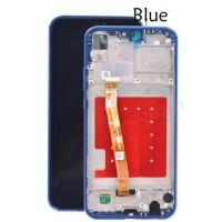 Huawei P20 Lite (ANE-LX1) Display Incl Digitizer+ Frame - Blue